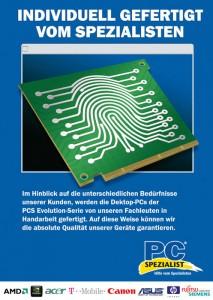 Plakate für PC-Spezialist