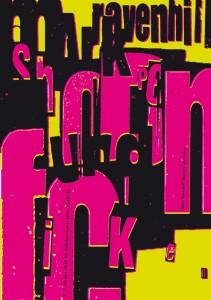 Theaterplakat - Diplomarbeit von Robert Gorny