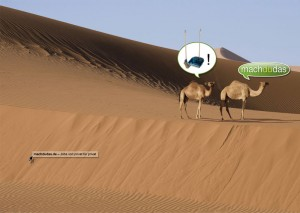 machdudas - Anzeige für ein Online Jobportal