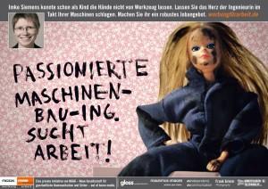 Werbung für Arbeit - Social Kampagne