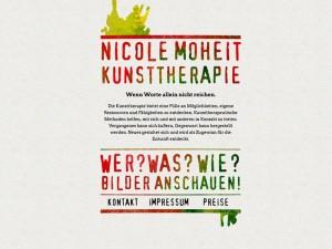 Webseite - Nicole Moheit - Kunsttherapie