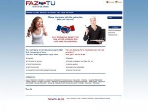 Webseite - FAZ TU - Online Jopportal