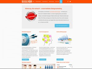 Webseite - Marketing Services XM
